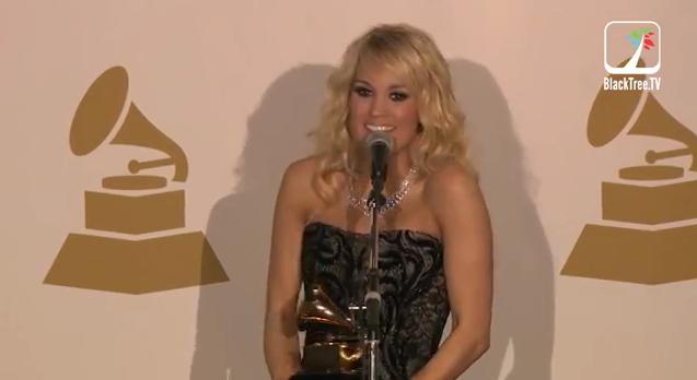 Grammys.Carrie