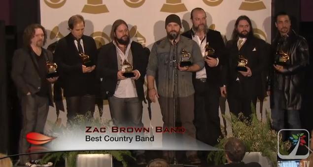 Grammys.ZacBrown