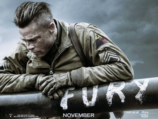 FURY is not your average war movie (Michael Peña and David Ayers)