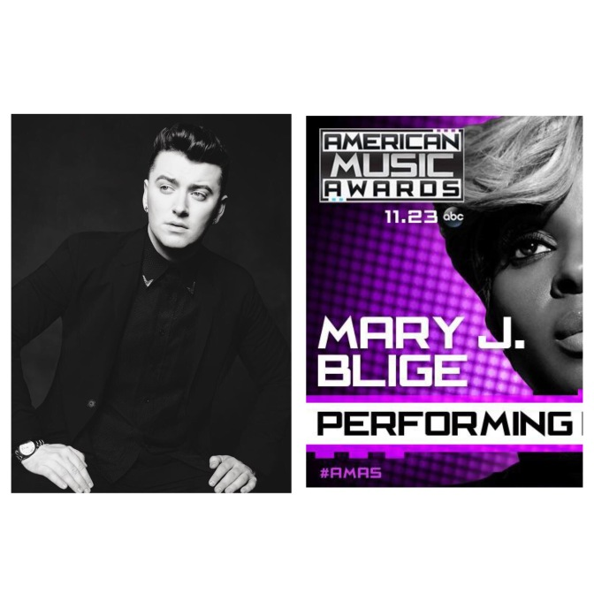 MARY J. BLIGE, AND SAM SMITH TO PERFORM AT THE 2014 AMERICAN MUSIC AWARDS®