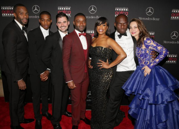 Colman Domingo, Stephan James, David Oyelowo, Niecy Nash, Omar J. Dorsey and other Selma cast members