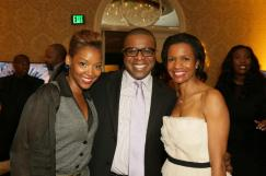 Nikkole Denson-Randolph, VP, Specialty & Alternative Content at AMC Theatres/Entertainment Todd Brown, Publisher of Ebony Magazine with Salaam Coleman Smith, EVP strategy and programming at ABC Family
